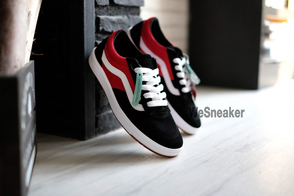 [VANS] Cruze CC (2-Tone) - Black/Racing Red : Price 3,200.-