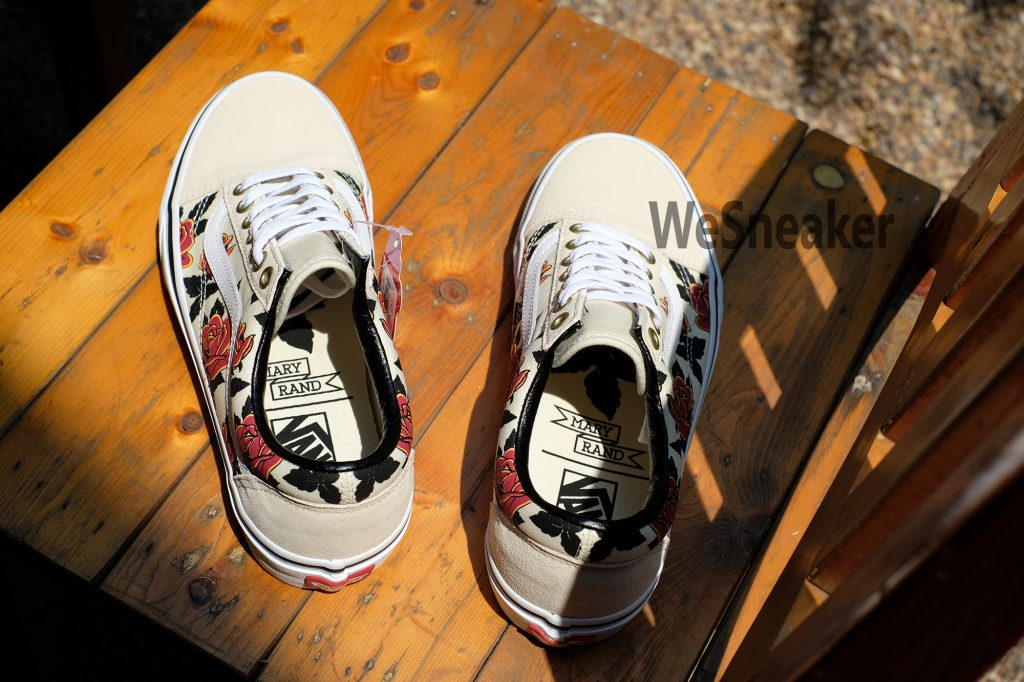 [VANS] Old Skool (Mary Rand Land) - Turtledove/True White : Price 2,800.-