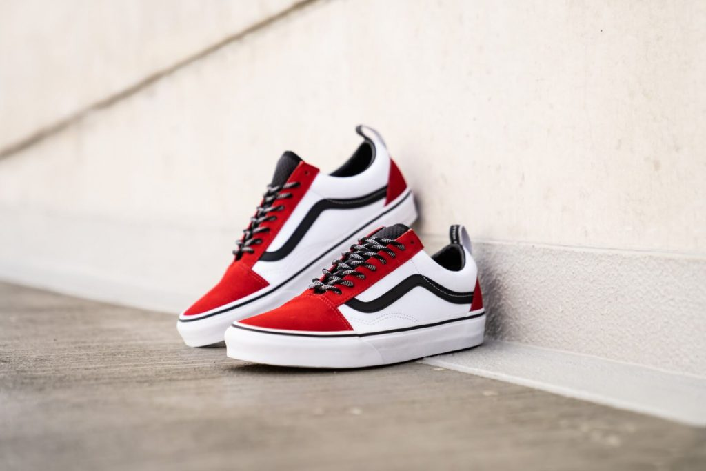 [VANS] Old Skool (OTW Webbing) - Red/Black/True White : Price 2,800.-