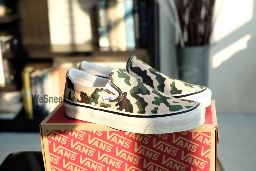 [VANS] Slip-On (Anaheim Factory) - OG Camo : Price 2,900.-