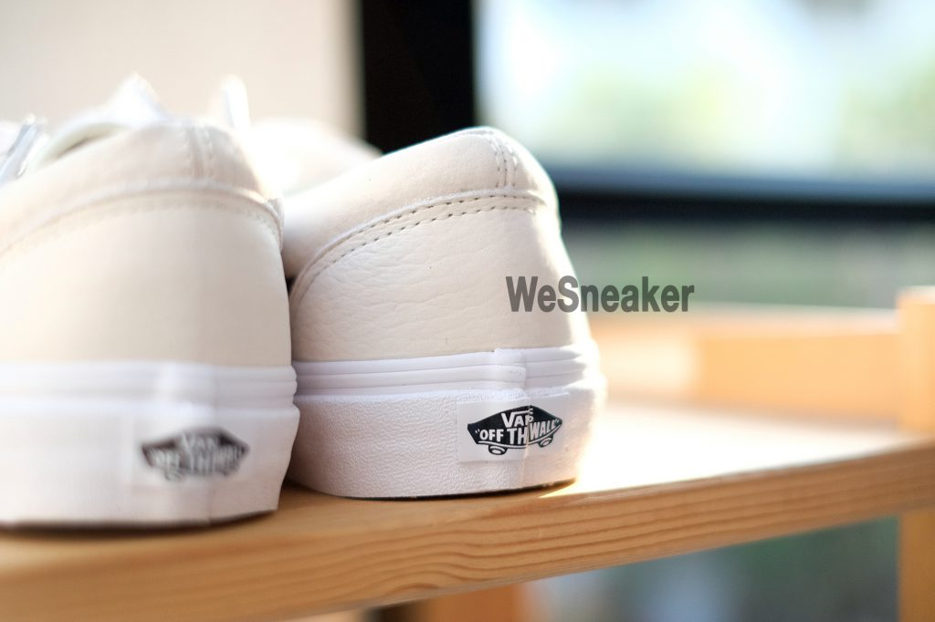 [VANS] Style 36 (OS Grain Leather) - White/Asparagus : Price 3,200.-