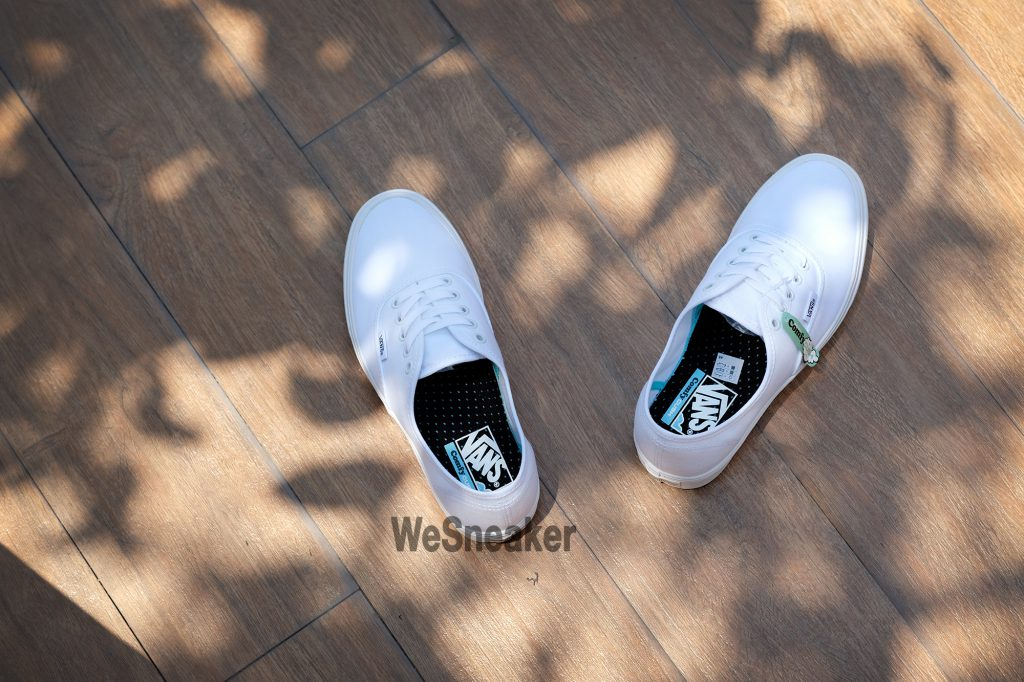 [VANS] Authentic (ComfyCush) - True White/True White : Price 2,600.-