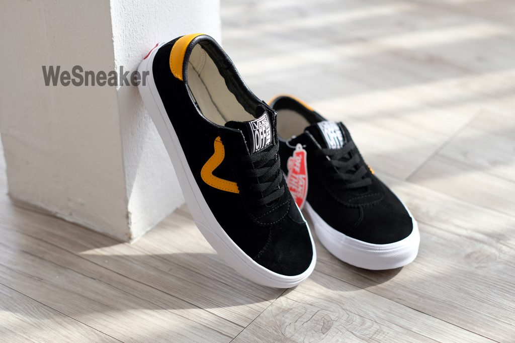[VANS] Sport - Black/Cadmium Yellow : Price 2,800.-