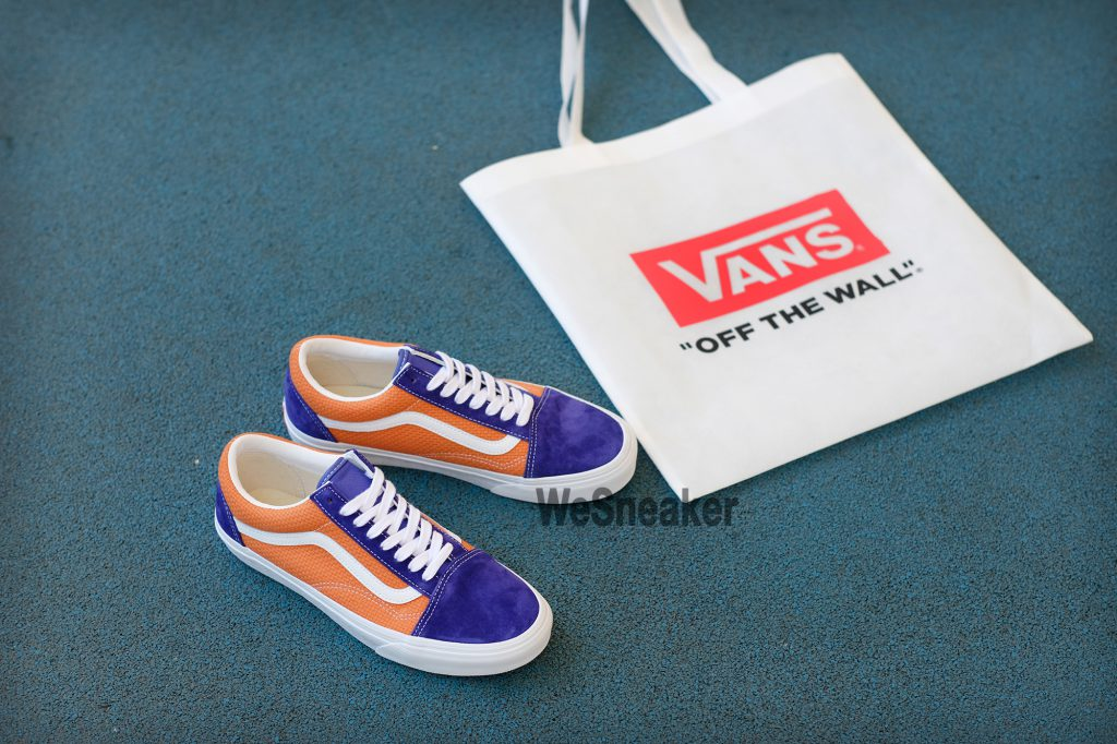 [VANS] Old Skool (P&C) - Royal Blue/Apricot Buff : Price 2,800.-