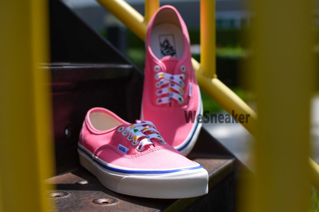 [VANS] Authentic 44 DX (Anaheim Factory) - Og Pink/Og Heart : Price 2,600.-