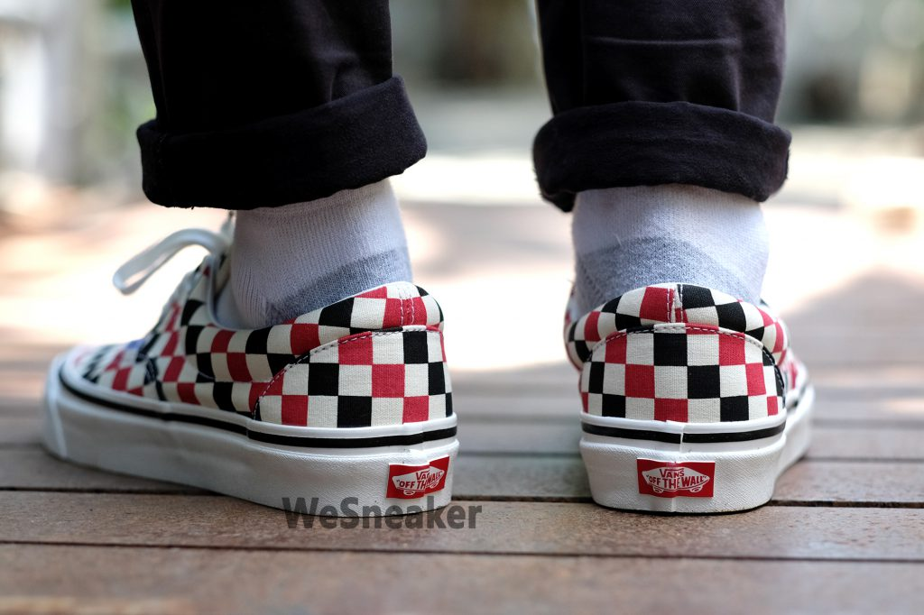 [VANS] Era 95 DX (Anaheim Factory) - Og Red/Og Black/Check : Price 2,600.-