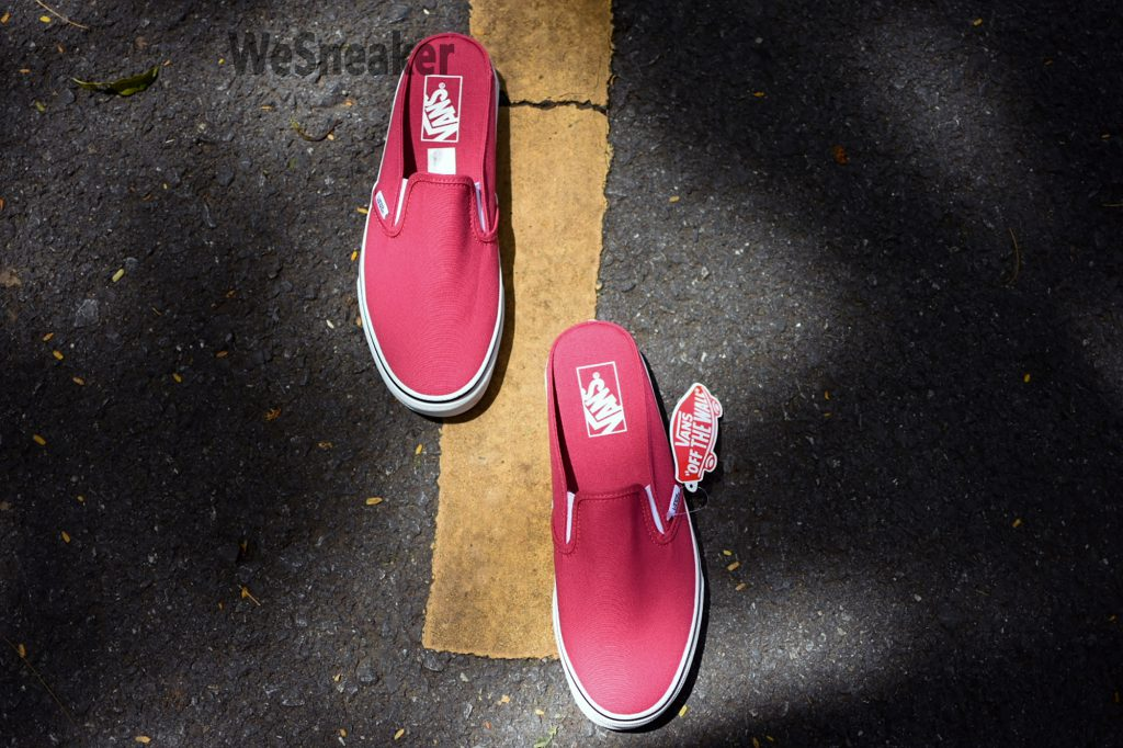 [VANS] Slip-On (Mule) - Claret Red : Price 2,100.-