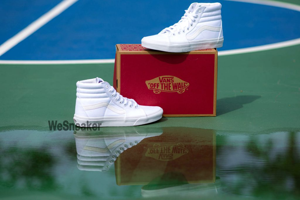 [VANS] SK8 (Hi) - True White : Price 2,600.-