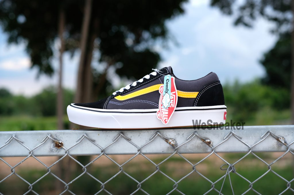 [VANS] Old Skool (ComfyCush) - Tri-Tone/Lemon Chrome : Price 3,400.-