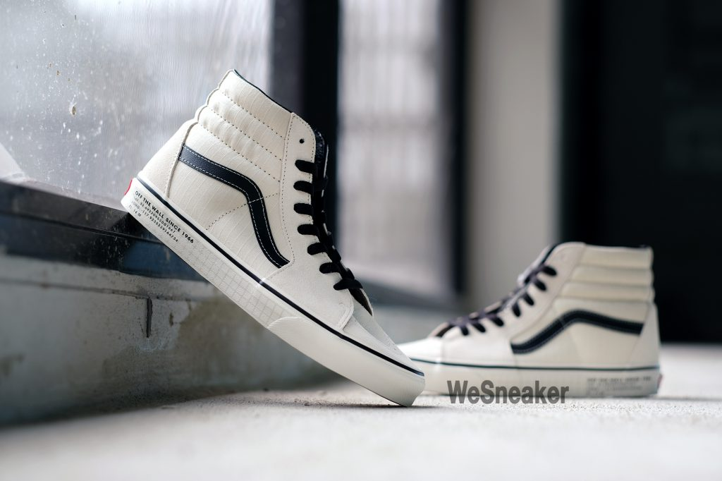 [VANS] SK8-Hi (66 Supply) - Antique White/Black : Price 3,200.-