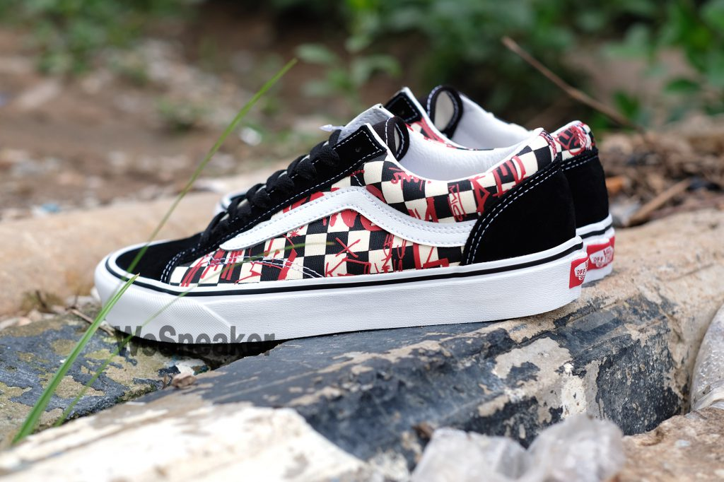 [VANS] Style 36 (Crew) - Checkerboard/Red : Price 2,800.-