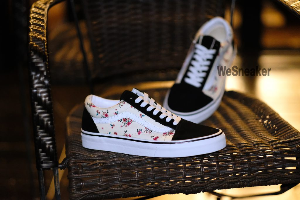 [VANS] Old Skool (Ditsy Floral) Classic White/True White : Price 2,800.-